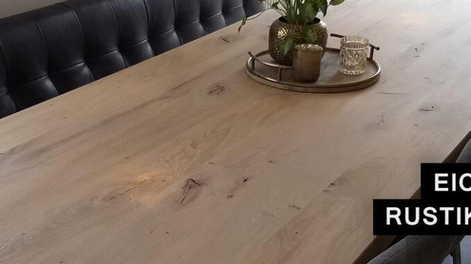 Tischplatten Eiche massiv (maßgefertigt) bei Eichenholzprofi